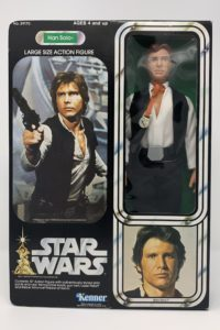 "Vintage Han Solo 12"" Action Figure Doll 1978 1977"