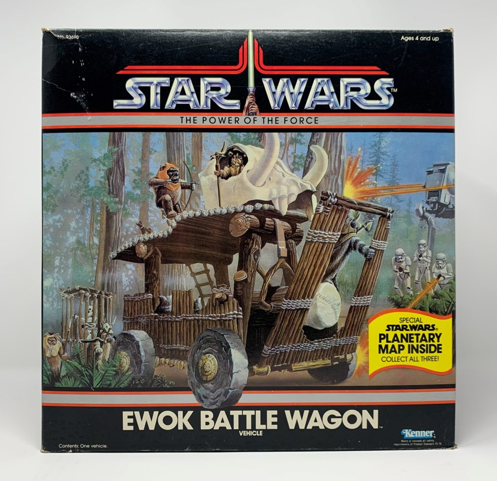 POTF Ewok Battle Wagon Front