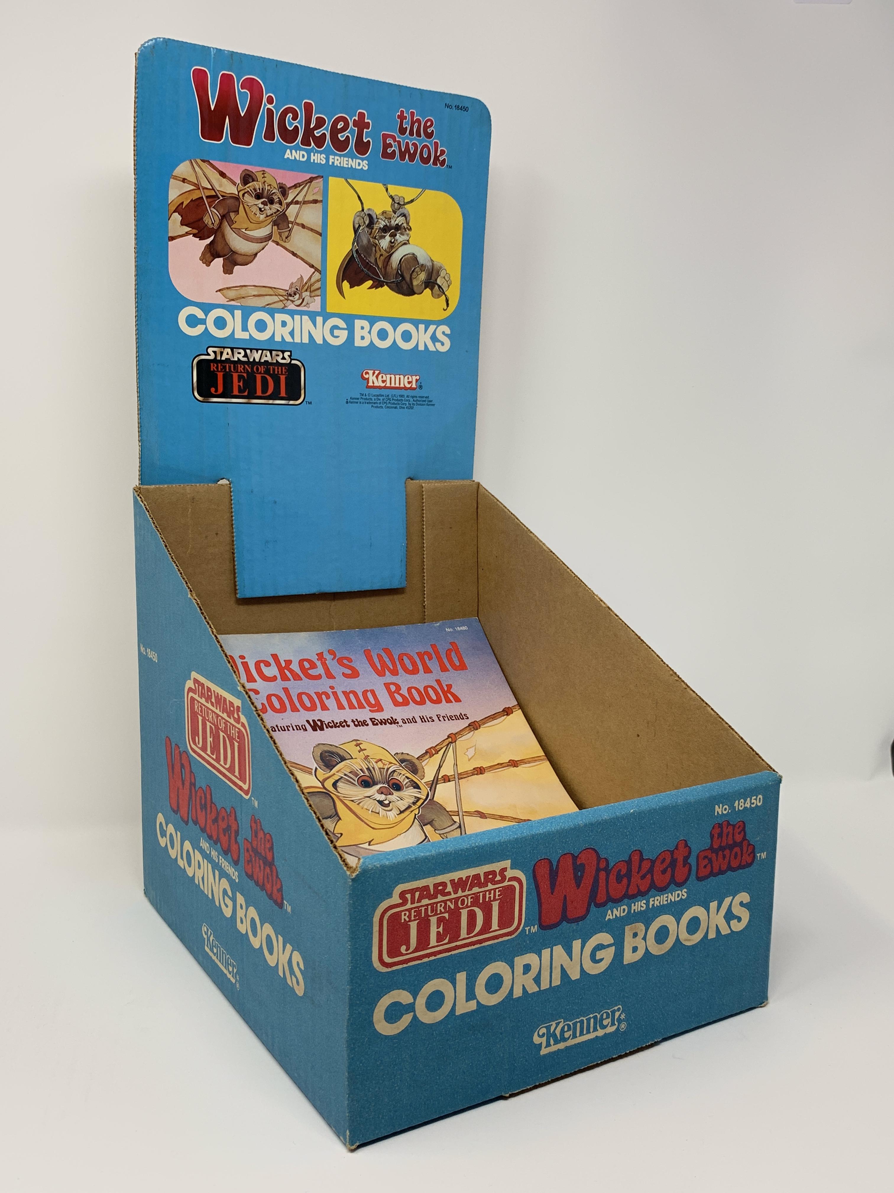 Wicket Coloring Book Display Bin
