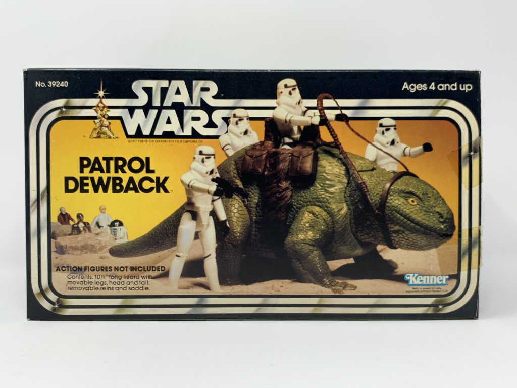 Star Wars Patrol Dewback Front