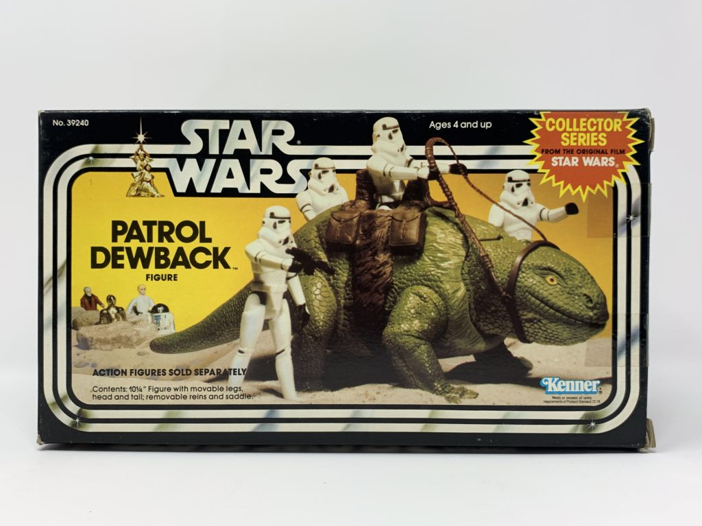 Star Wars Patrol Dewback Collector Series Front
