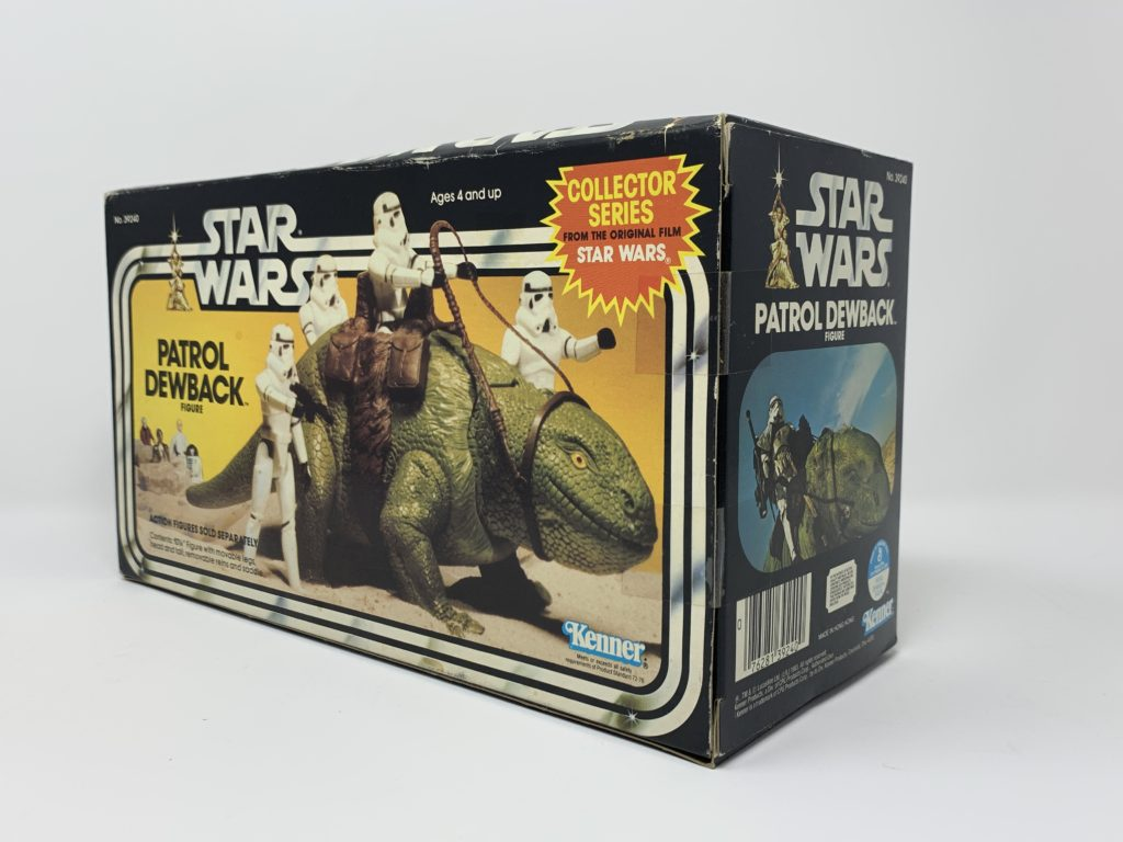 Star Wars Patrol Dewback Collector Series Back