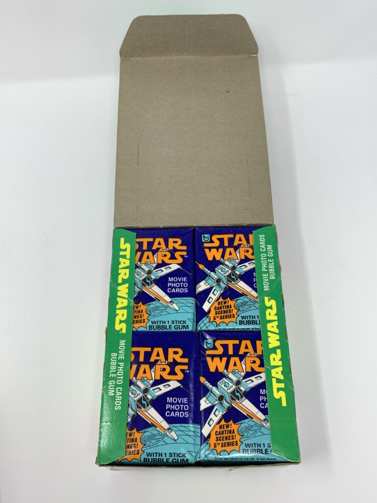 Star Wars Series 5 Topps Cards