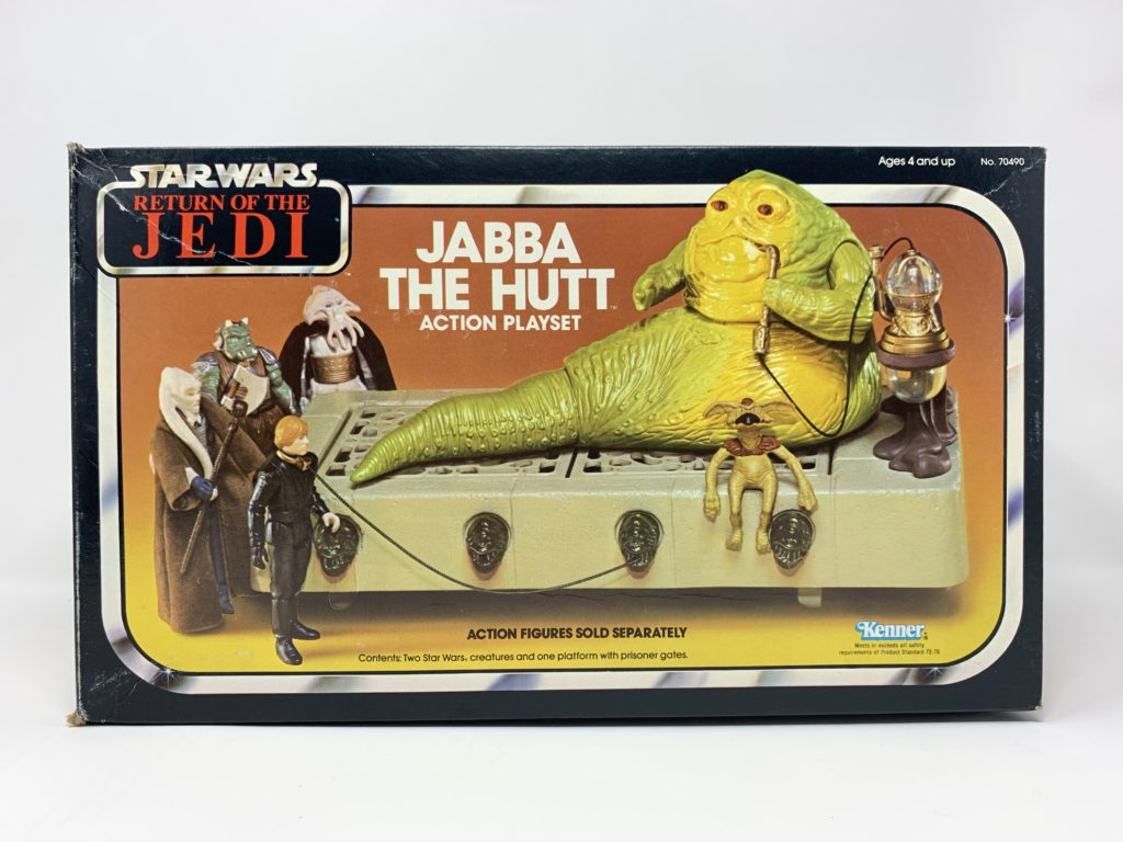 ROTJ Jabba The Hutt Playset Front