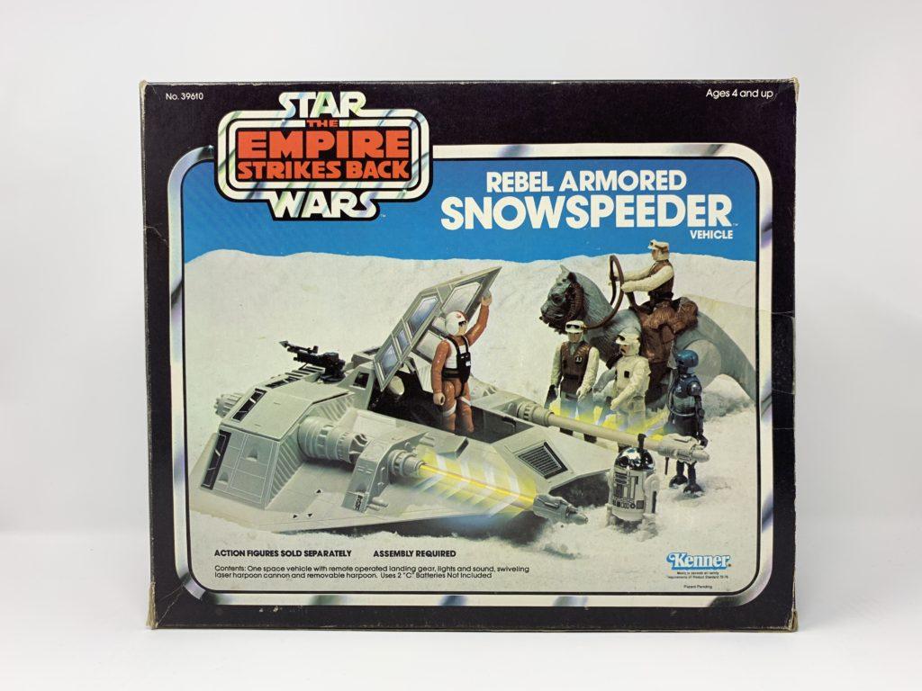 ESB Snowspeeder Blue Box Front