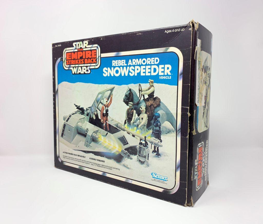 ESB Snowspeeder Blue Box Back