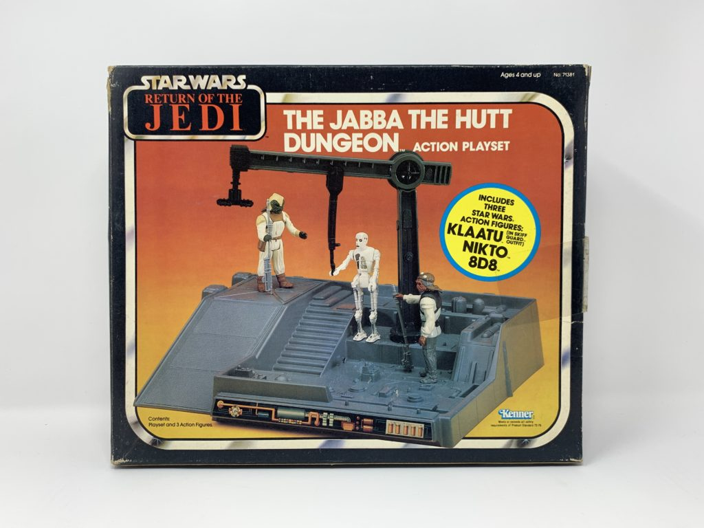 ROTJ Jabba The Hutt Dungeon Playset Front