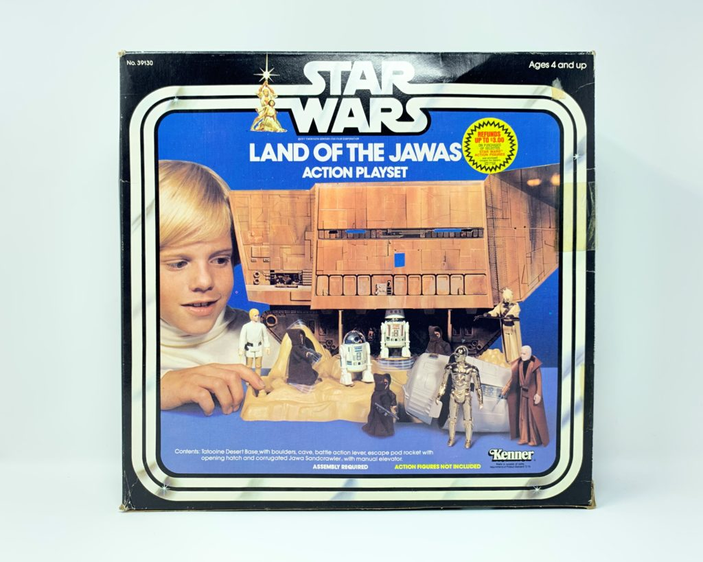 Star Wars Land Of The Jawas Playset Front