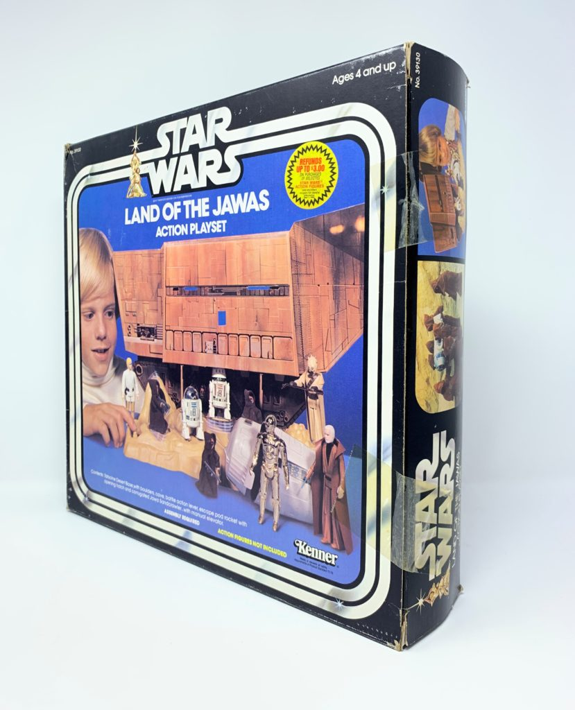 Star Wars Land Of The Jawas Playset Back