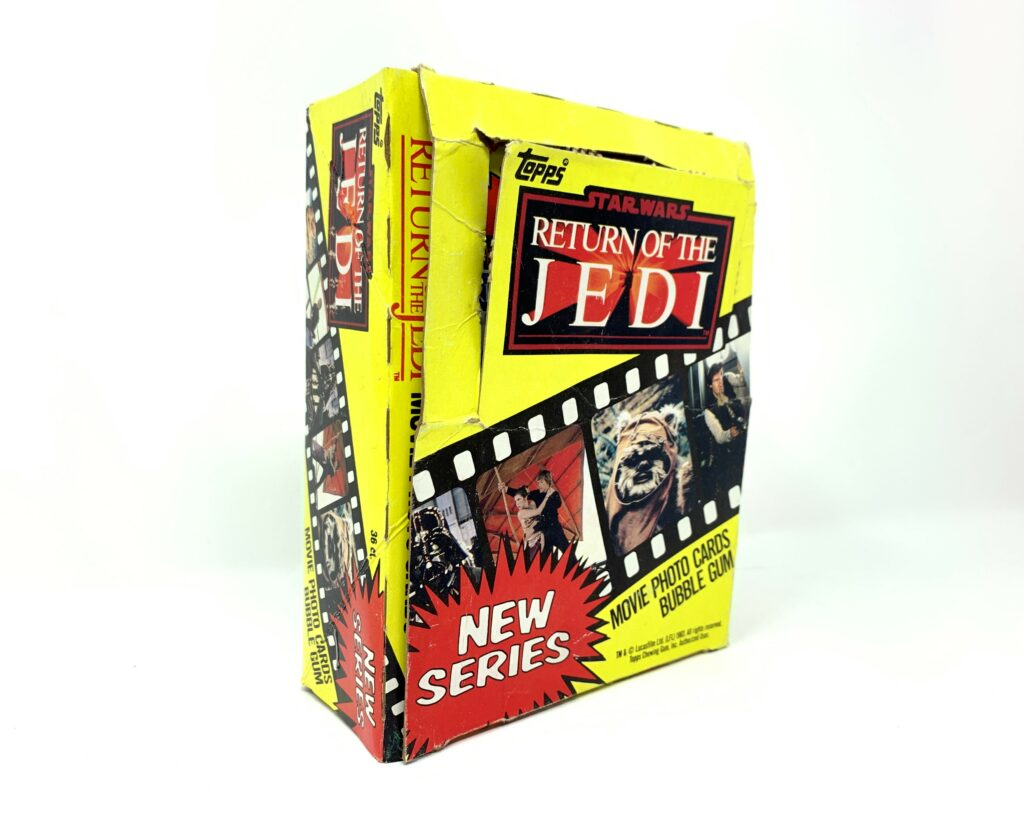 Return Of The Jedi Series 1 Topps Cards