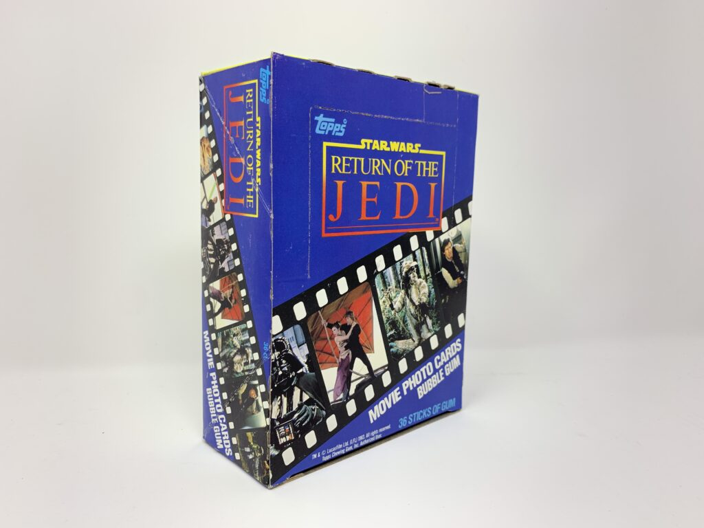 Return Of The Jedi Series Topps Cards