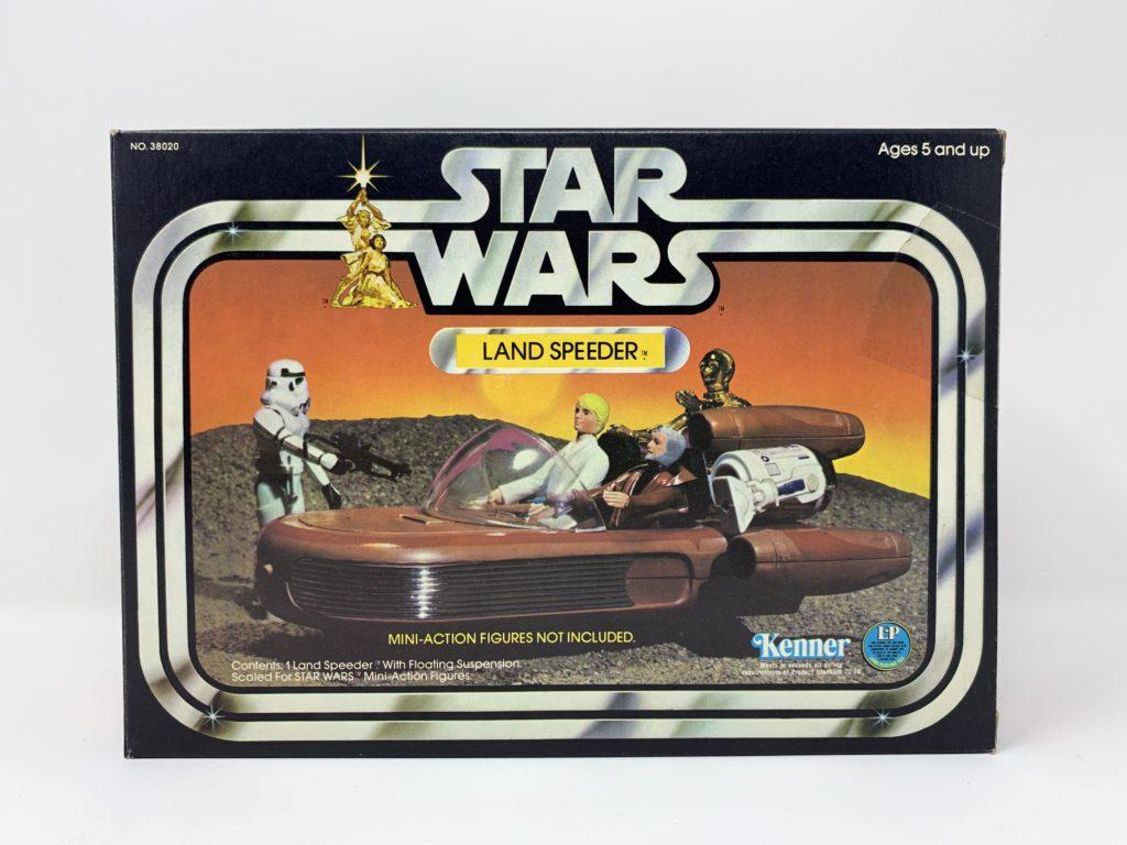 Star Wars Landspeeder LP Logo Front