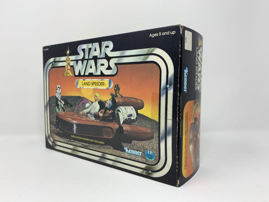 Star Wars Landspeeder LP Logo Back