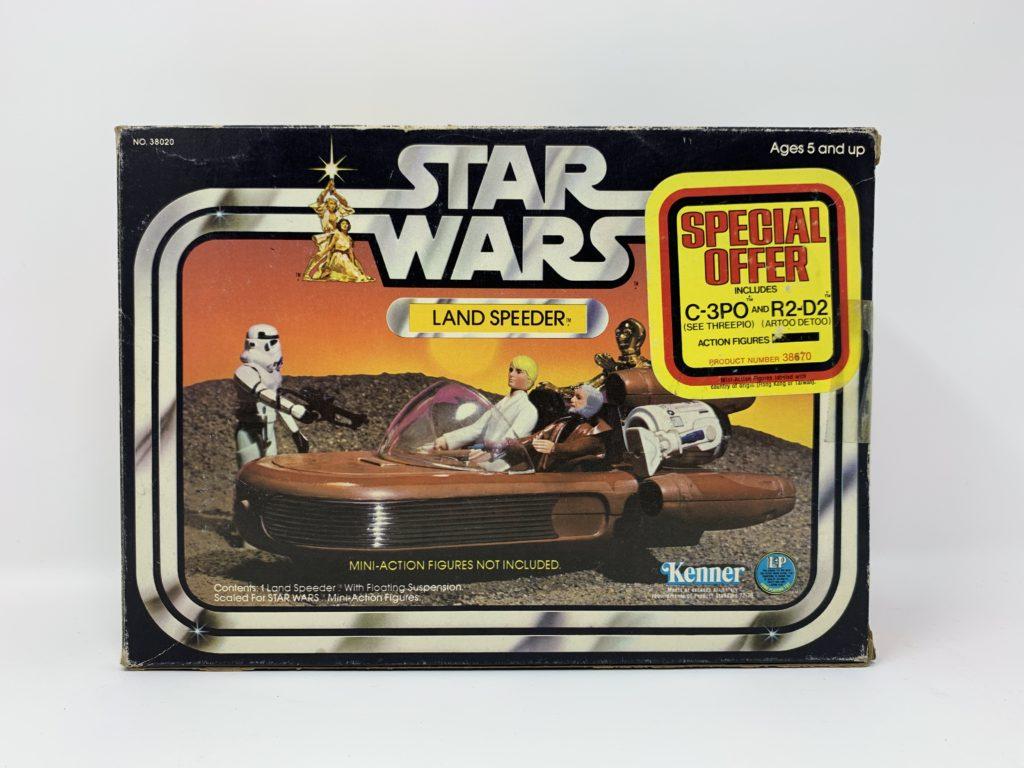 Star Wars Landspeeder Special Offer Sticker Front