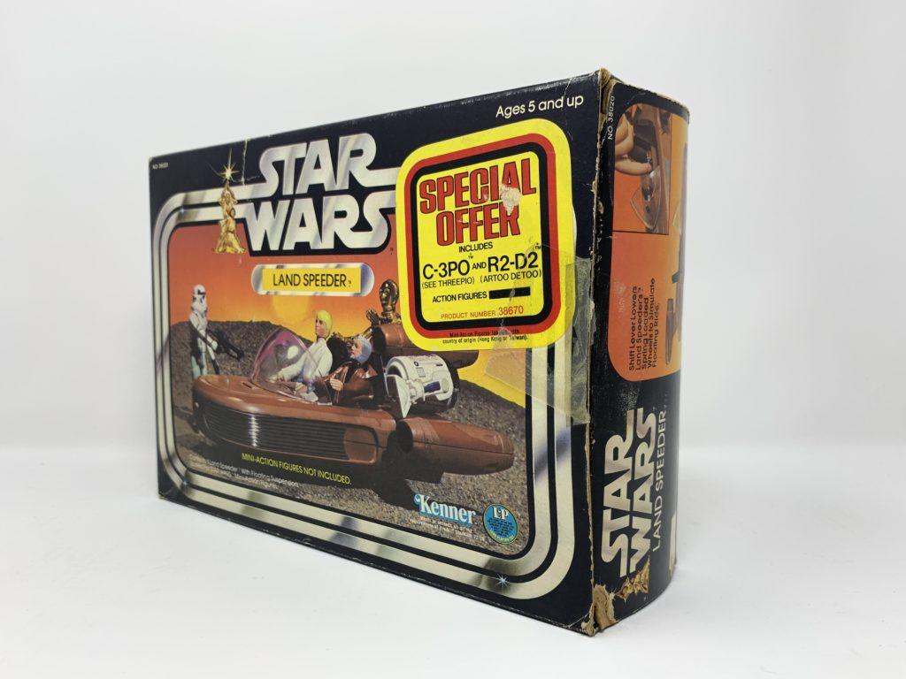 Star Wars Landspeeder Special Offer Sticker Back