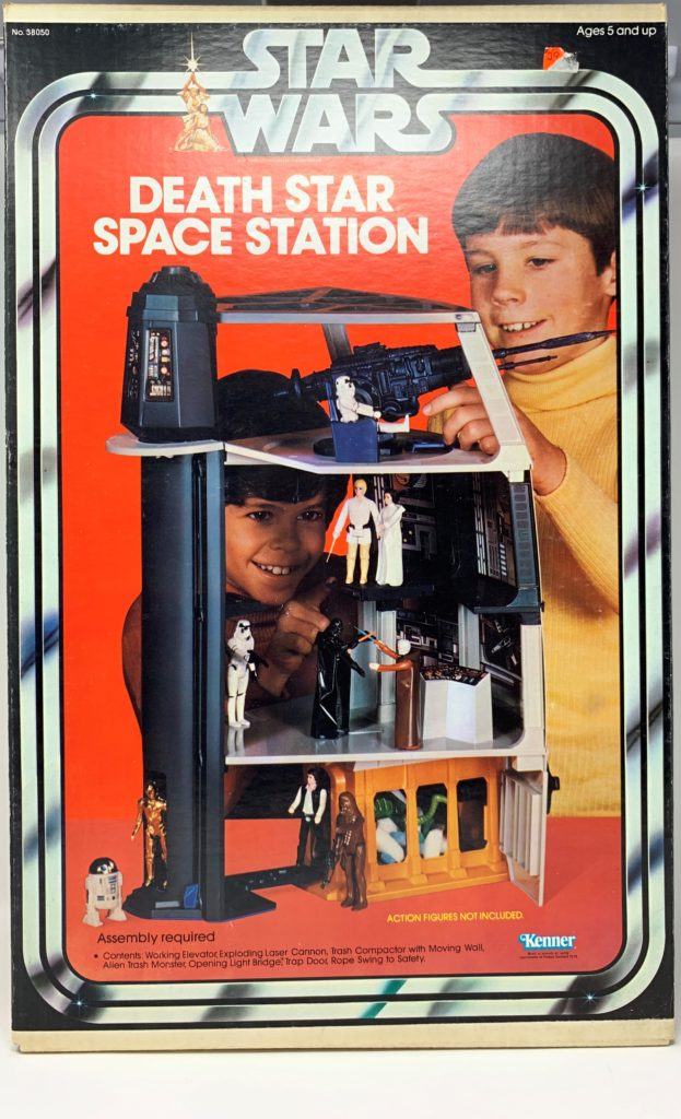 Star Wars Death Star Space Station Playset Front