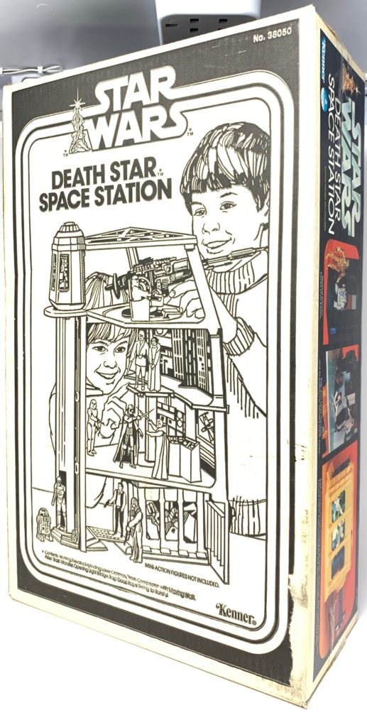 Star Wars Death Star Space Station Playset Back