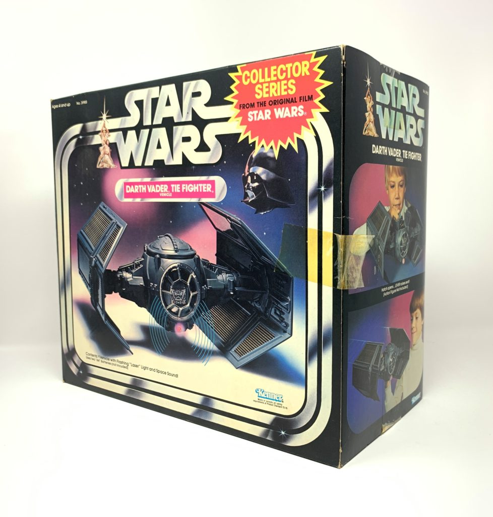 Star Wars Tie Fighter Collector Series Back