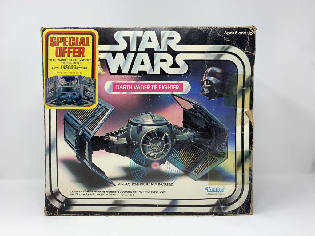 Star Wars Tie Fighter Special Offer Sticker Front