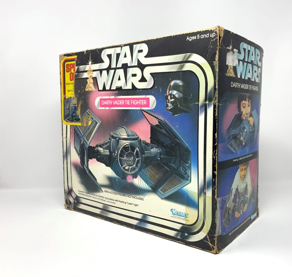 Star Wars Tie Fighter Special Offer Sticker Back