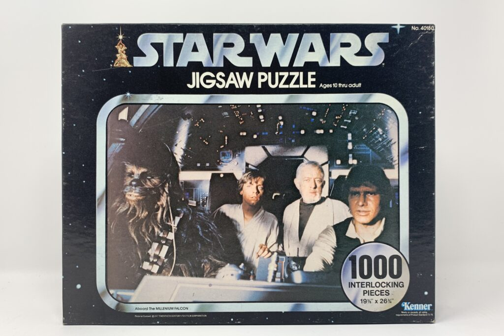 Star Wars Vintage Kenner 1000 Piece Puzzle