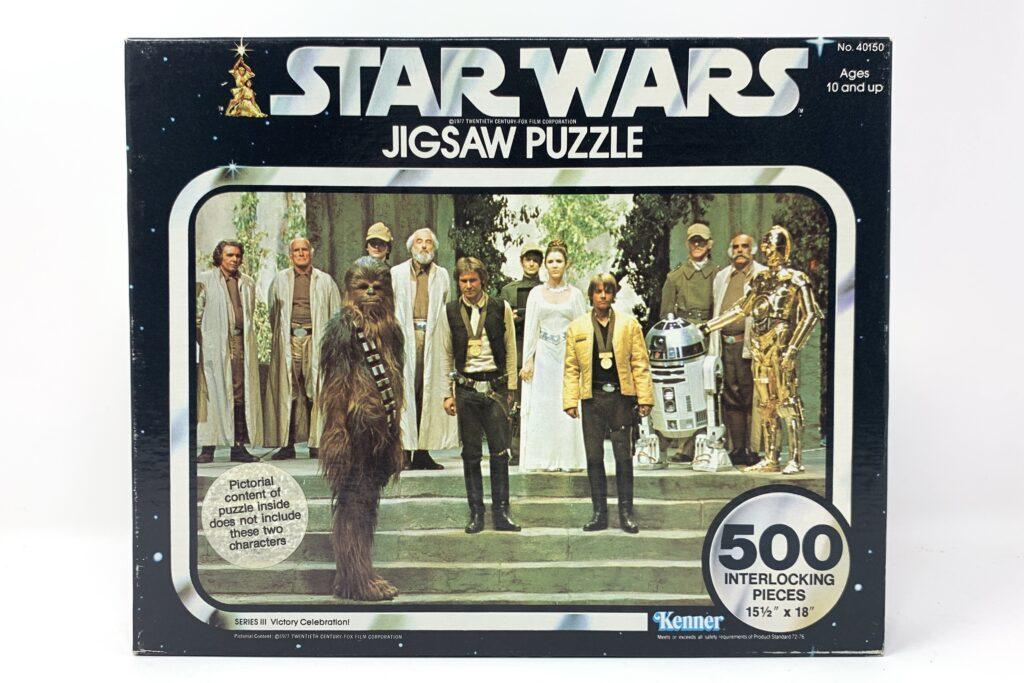 Star Wars Vintage Kenner 500 Piece Puzzle