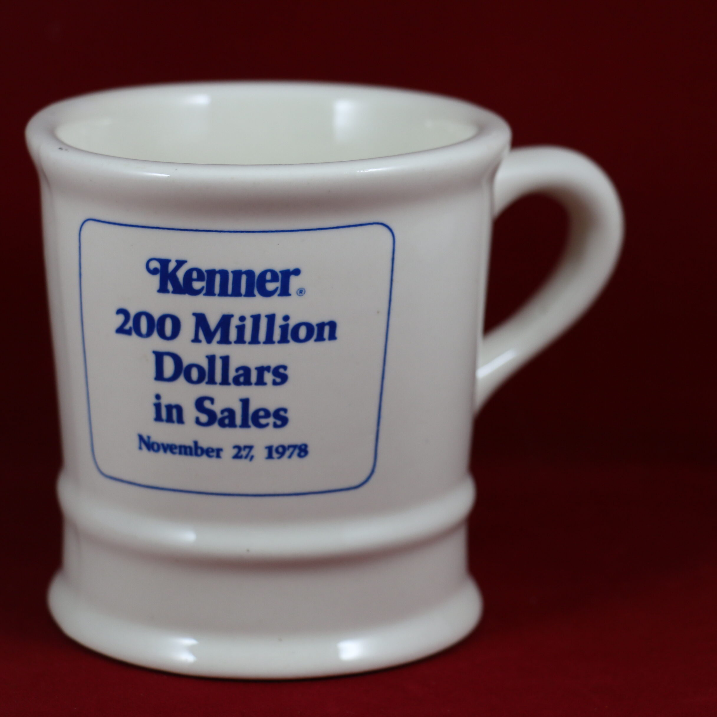 Kenner $200 Million Sales Mug Given To Employees To Celebrate