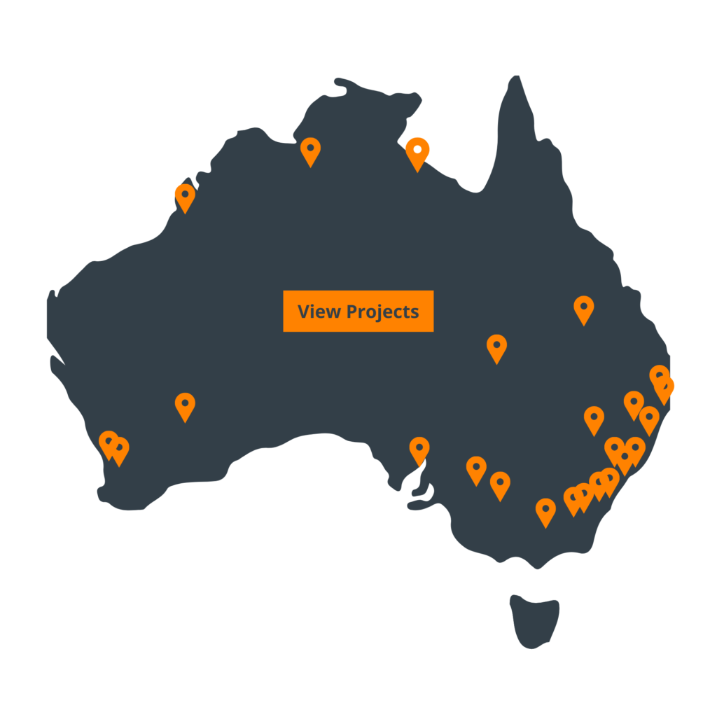 Australia-map-view-projects