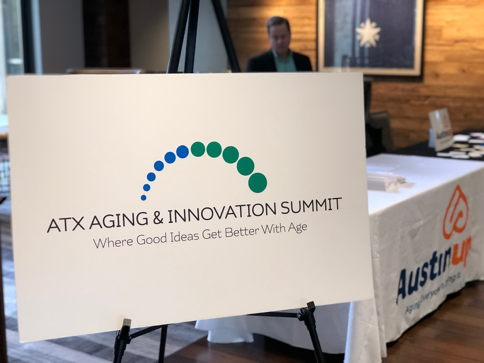 aging innovation summit sign