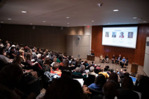 Livability for Longevity Symposium 2019 panel and audience