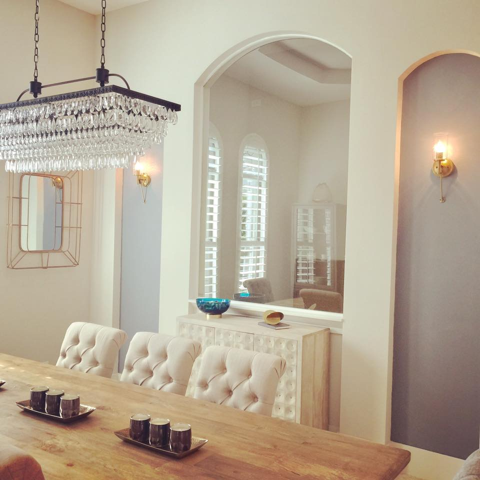 The Details on this GORGEOUS Dining Room!