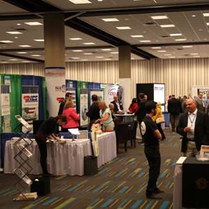 Should Exhibitors Send Material to the Advance Warehouse or the Trade Show Site?