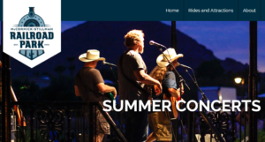Scottsdale's Railroad Park Summer Concert Series
