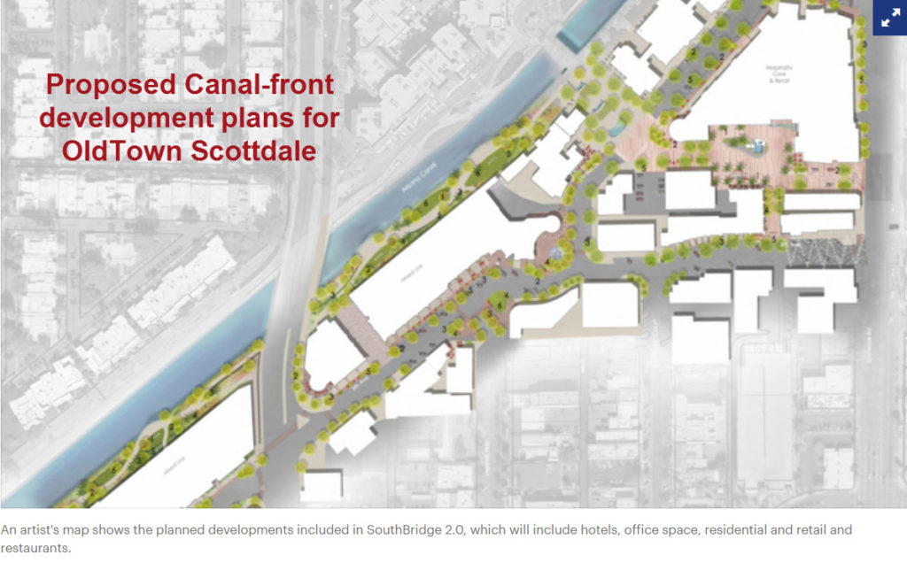 Old Town Scottsdale Canal Development Plan