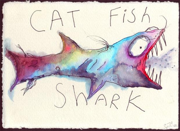cat fish shark by MGG