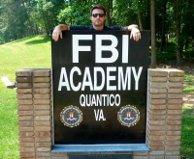 At Quantico during season 3
