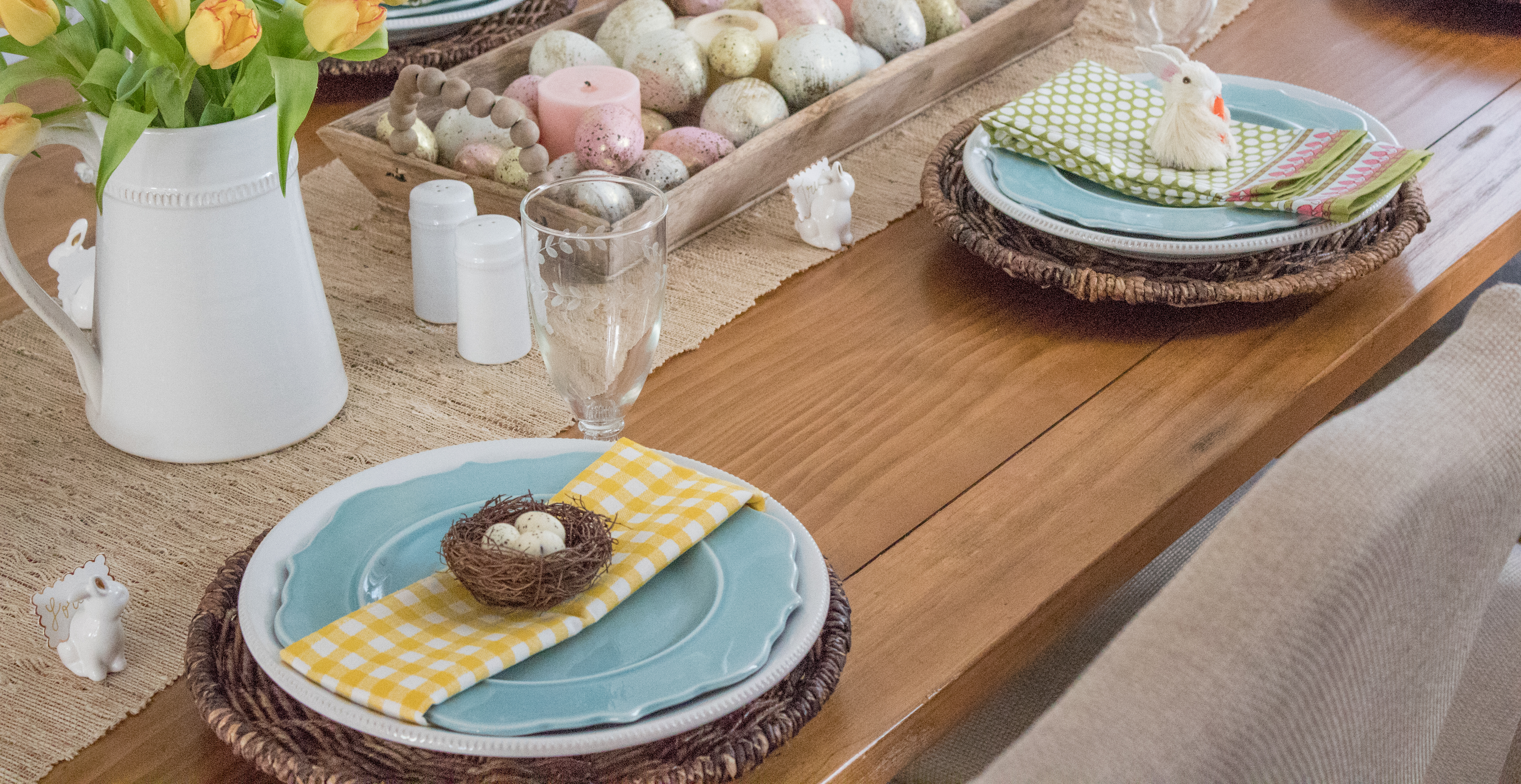 lo chandler easter table