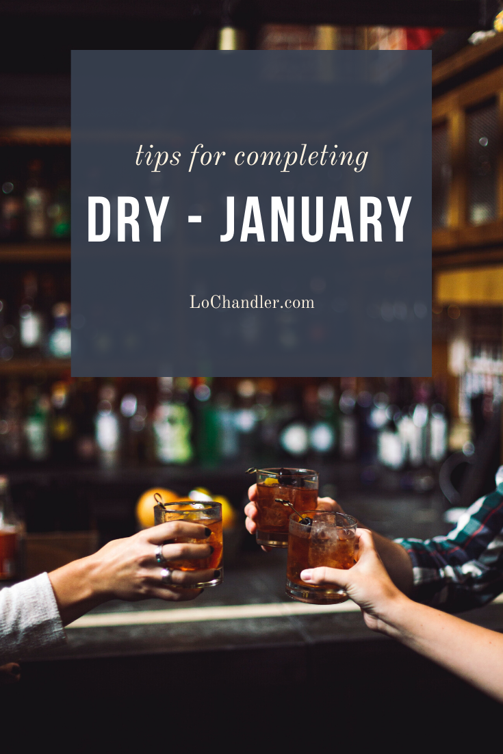 tips for completing dry january