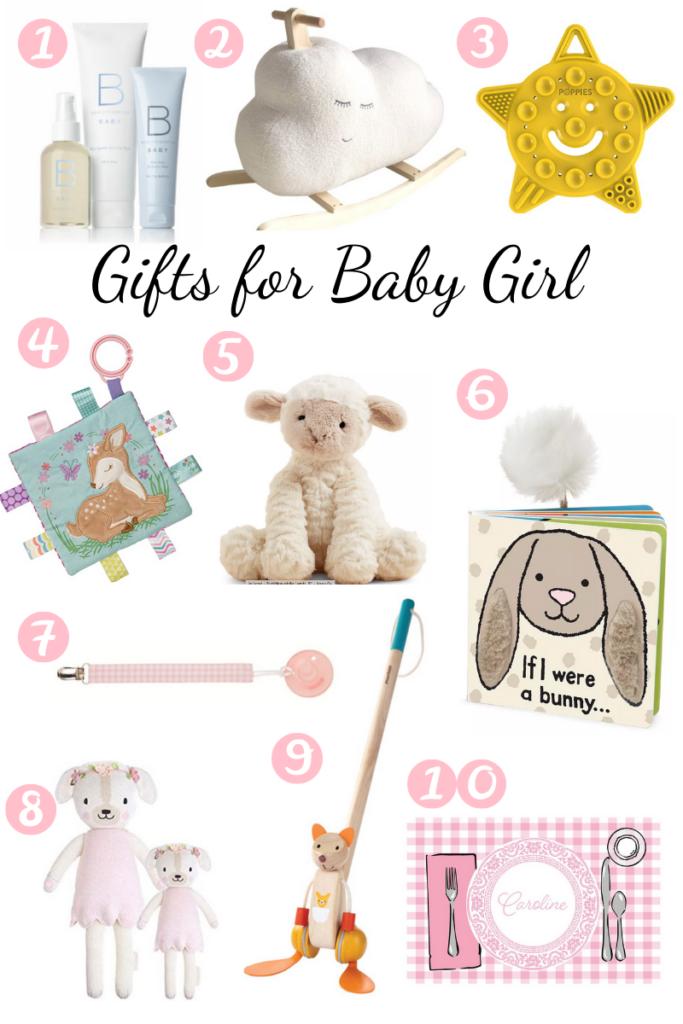 gift guide for baby girl 2020