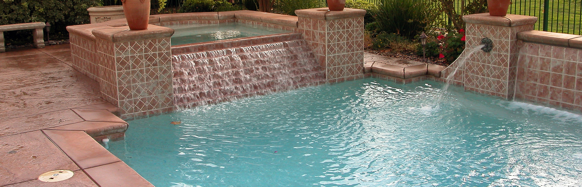 Blue Fire Pools and Outdoor Living