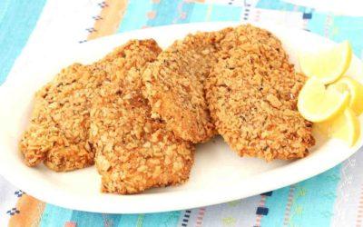 Extra Crispy Passover Chicken Cutlets