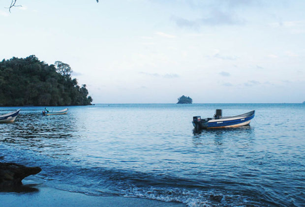 Triganá, beach, playa, playa colombiana, colombia, ecoturismo, mar, mar caribe, caribe, azul, agua, ecología.