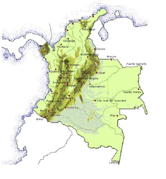 Roble, distribución del roble común, Colombia roble, Panamá roble, cordilleras colombianas, serranía del Darién. Esfera VIVA