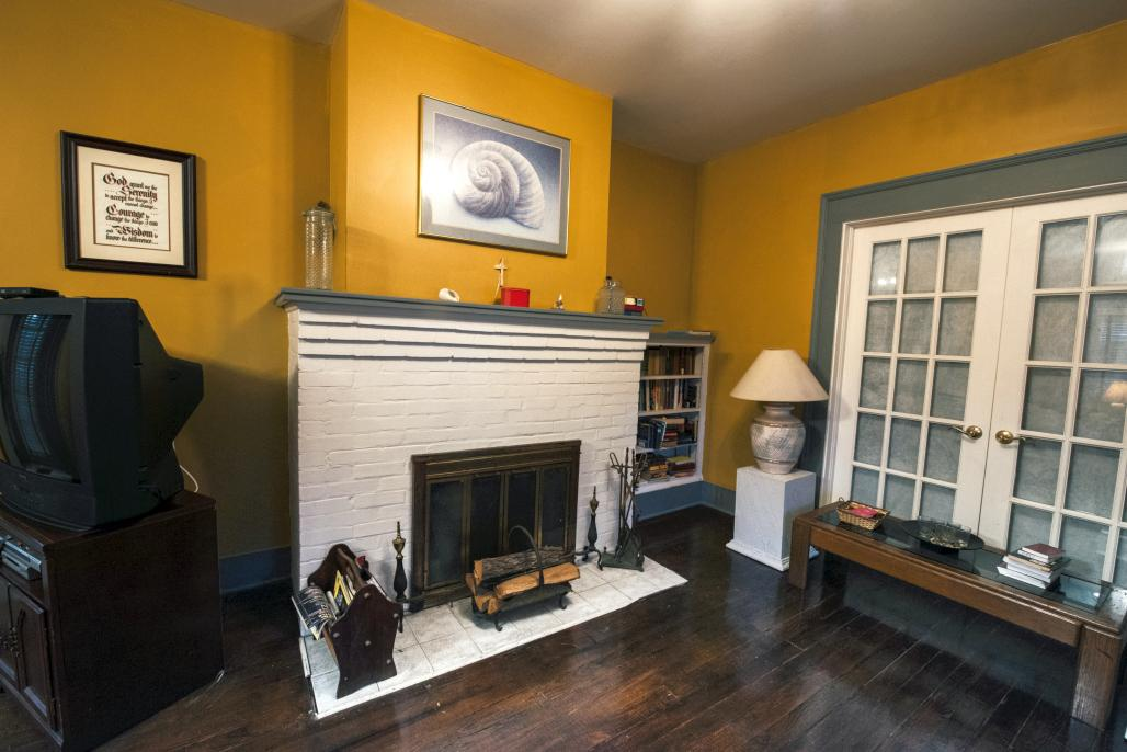 Peabody House Fire Place