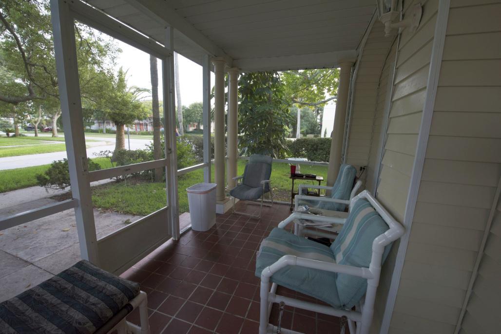 Peabody House Porch