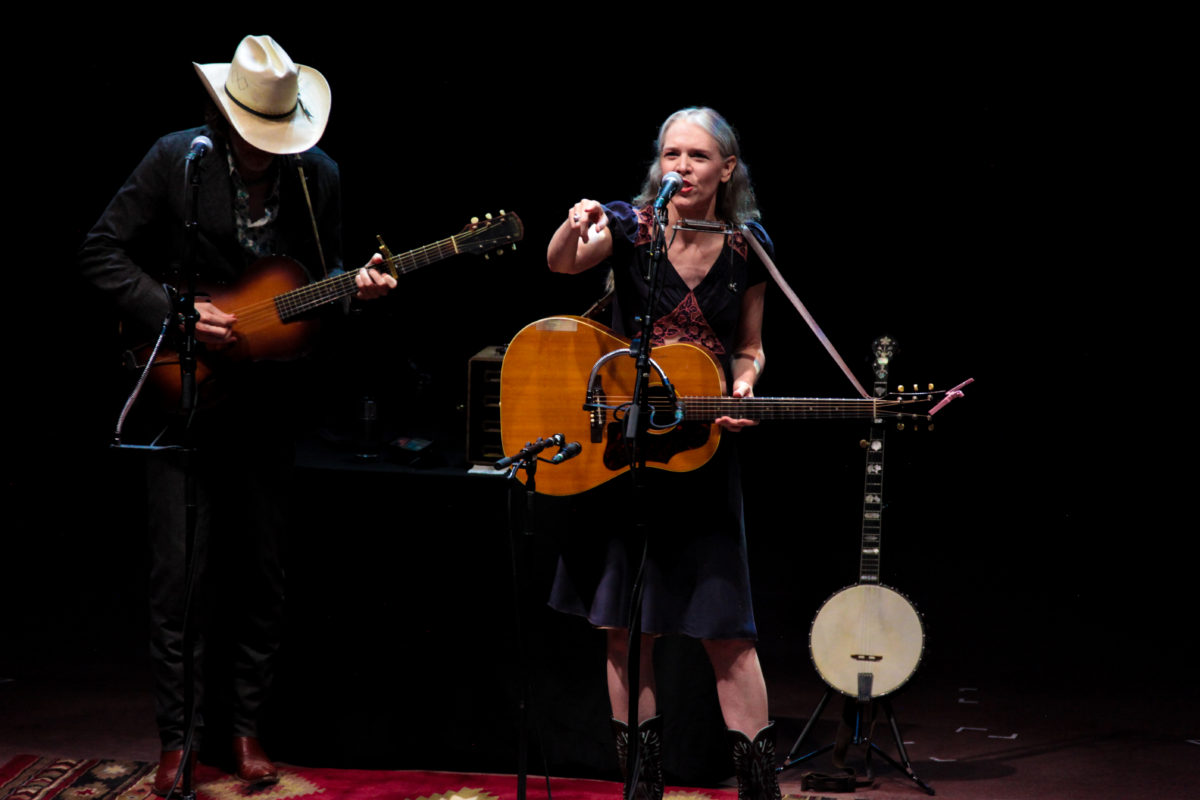 Gillian Welch Pointing At A Friend