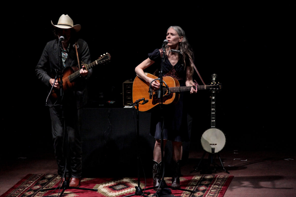 Gillian Welch Red Rocks