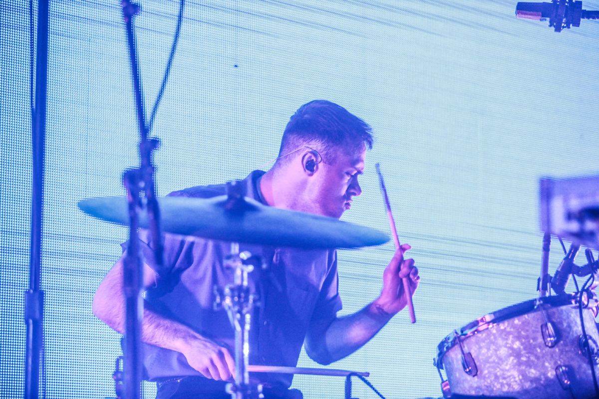 Ryan Winnen on Drums