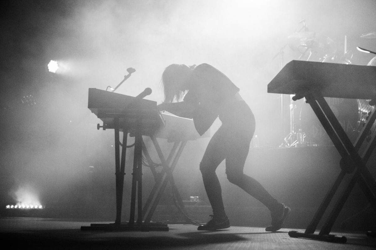 Emily Haines On Keyboard