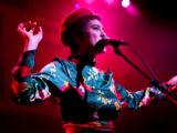 Miya Folick wearing a beret
